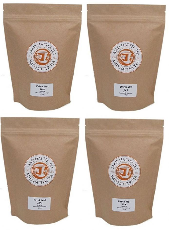Mad Hatter: Teabags 40s Retail 4x125g